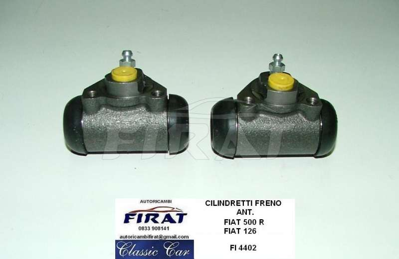 FIAT 126 FSM CILINDRETTI FRENI kit completo ant-post