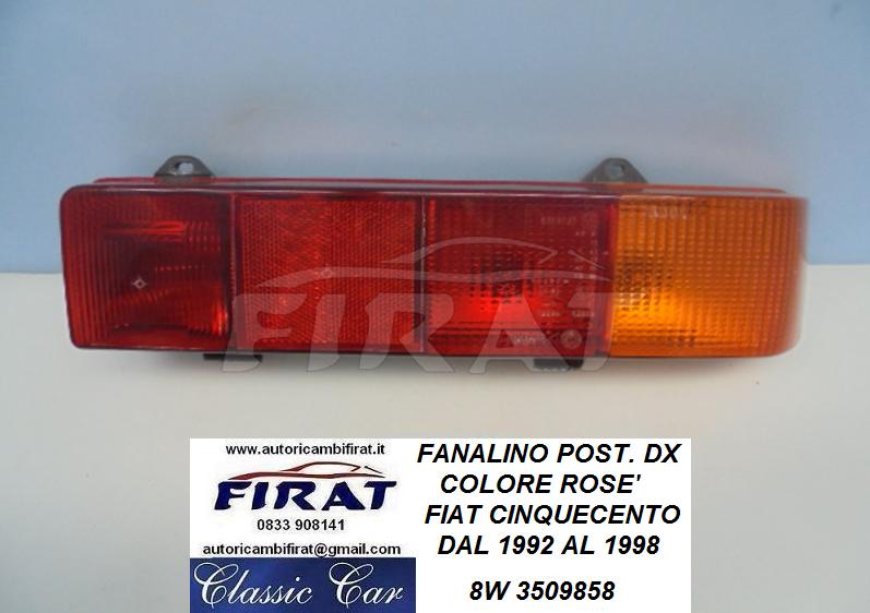 FANALE FIAT CINQUECENTO /'92-/'98 SPORTING ROSE/' DESTRO