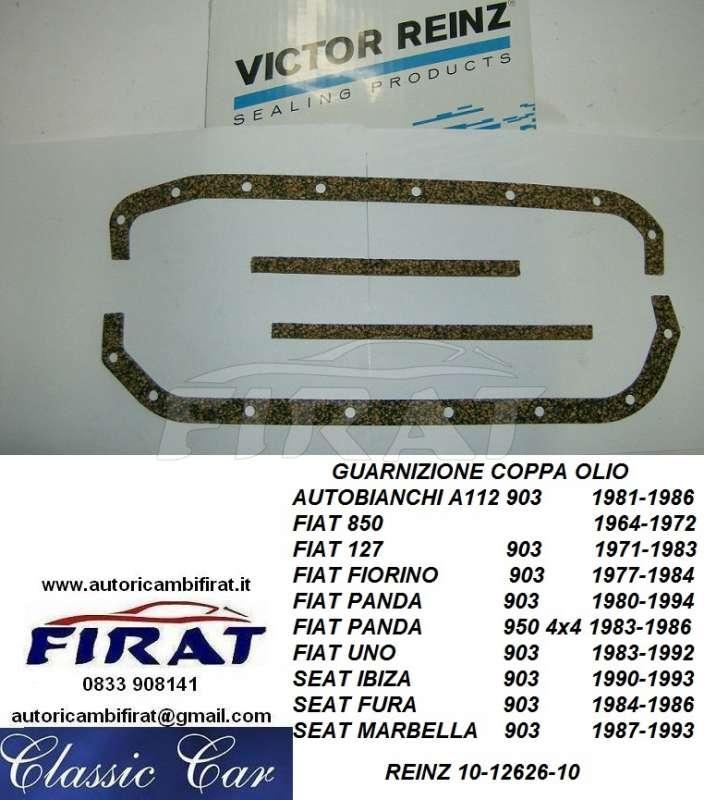 D GUARNIZIONE COPPA OLIO KIT FIAT 600 850-127 AUTOBIANCHI A112 ORIGINALE