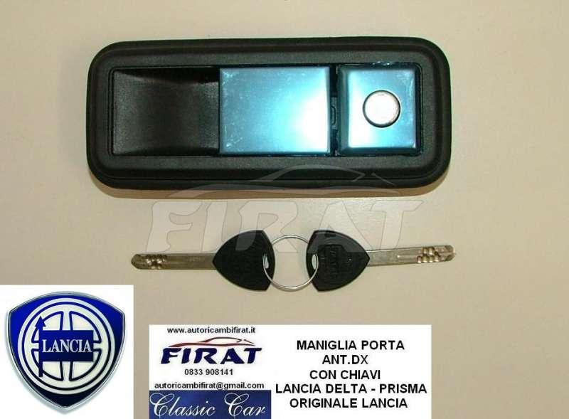 Maniglia Porta Lancia Delta Prisma Ant Dx C Blocch 80 66eur