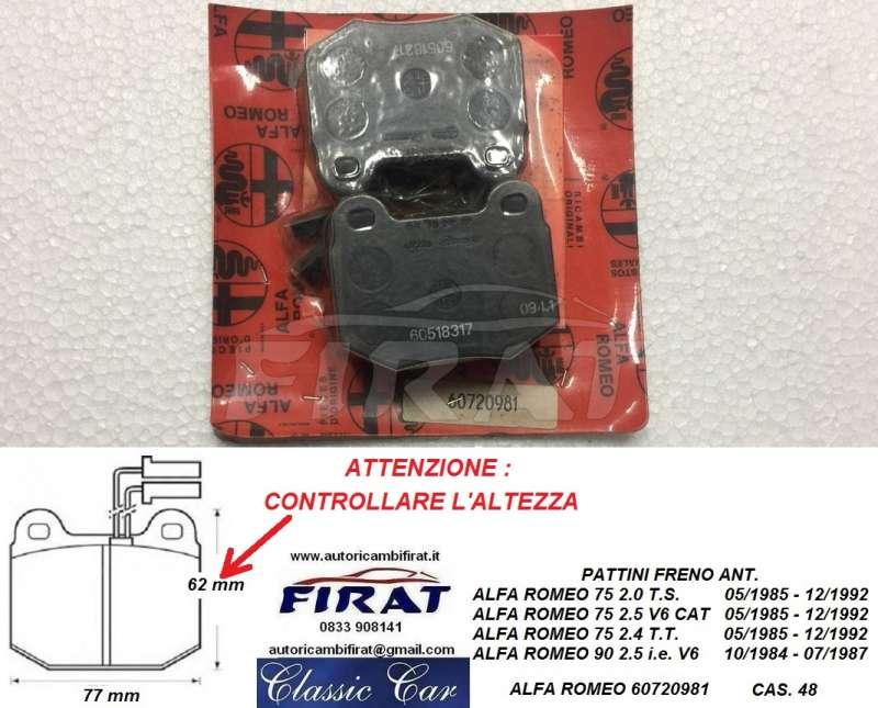 BOSCH Zündverteiler CAPPUCCIO PER ALFA ROMEO 75 90 per ALFASUD ALFETTA 74-89