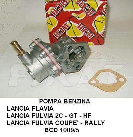 1009//5 POMPA CARBURANTE FUEL PUMP LANCIA FLAVIA-FULVIA 2C-GT-HF-COUPE/'-RALLY