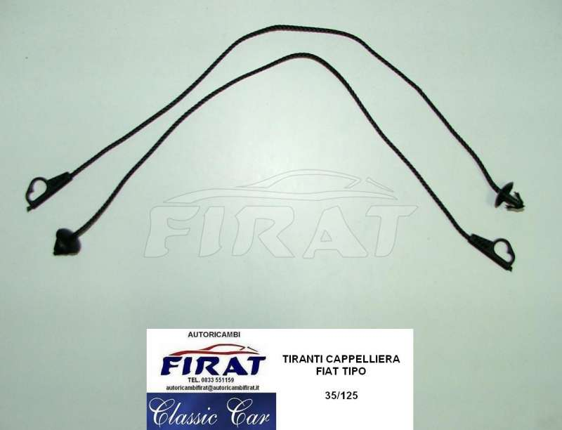 TIRANTI CAPPELLIERA FIAT TIPO - 10.08EUR   AUTORICAMBIFIRAT.IT ... aa13d9e43648