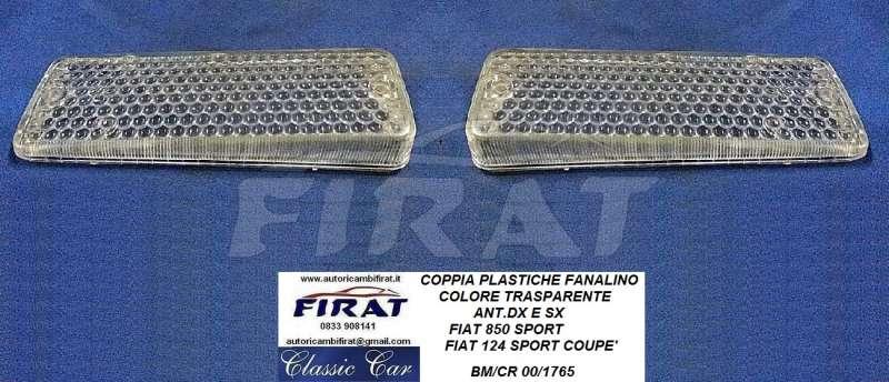 Plastica fanale FIAT 124 Sport /& 850 Coupè